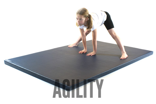 Agility gymnastics mats from Gym Master Limited