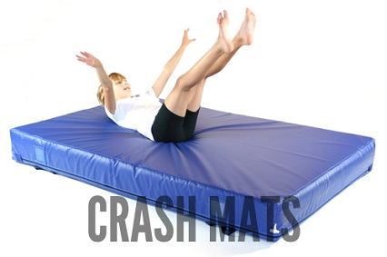 Crash mats from Gym-Master Limited