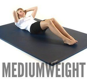 Medium weight gymnastics mats from Gym-Master Ltd