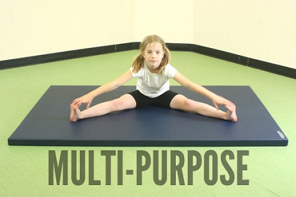 Multi purpose gymnastics mats from Gym-Master Ltd