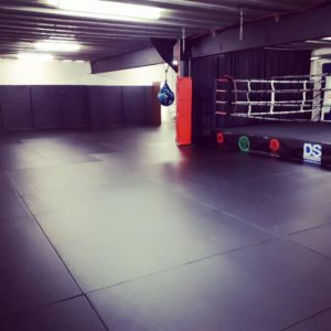 Gym-Master martial arts mats at Evade Martial Arts